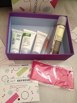 (A) Birchbox womens health caudalie stila excercise elastic korres green people