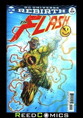 FLASH #21 (THE BUTTON) 3D LENTICULAR VARIANT *IN STOCK NOW* Boxed Securely
