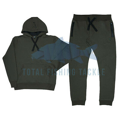 Fox NEW Version Green and Black Hoody and Joggers Combo *All Sizes*