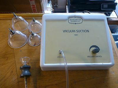 Silhouette Sv01 Face And Body Vacuum Suction Beauty Machine. Serviced & Warranty