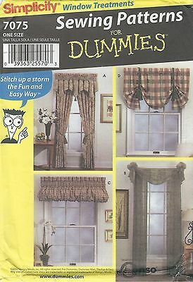 Simplicity 8355 Window Essentials   Sewing Pattern