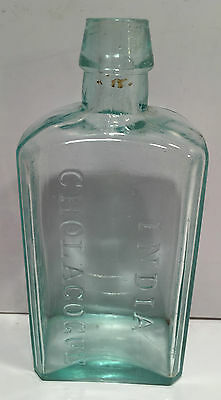 Osgood's India Cholagogue New York Medicine Bottle ~ 1840s