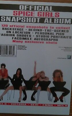 "lot of Spice Girls ""Official Snapshot Album' w/ 32 pictures + gift bag nm cond"