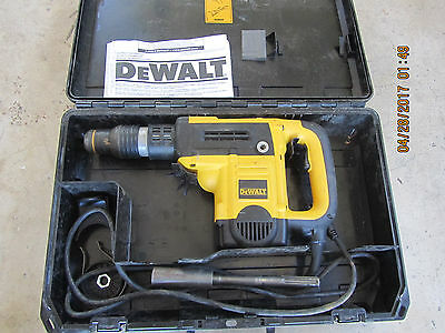 DEWALT D25501 1-9/16-in SDS Max 12-Amp Keyless Rotary Hammer **FREE SHIP USA**