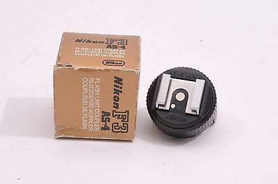 Mint- Nikon As-4 Flash Unit Coupler - Barely Used, In Box