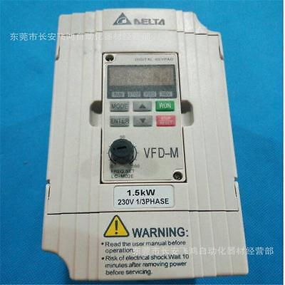 New in box Delta Inverter VFD-015M21A VFD015M21A 1.5KW 230V 1-Phase #J872