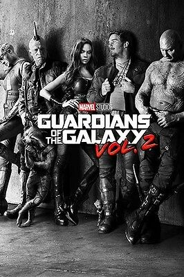 GUARDIANS OF THE GALAXY VOL. 2 POSTER (61x91cm) CHARACTERS PICTURE