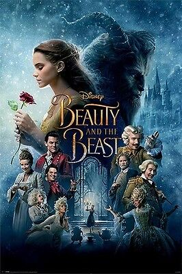 BEAUTY AND THE BEAST POSTER (61x91cm) TRANSFORMATION PICTURE PRINT