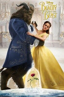 Beauty And The Beast POSTER (61x91cm) Dancing Picture Print New Art