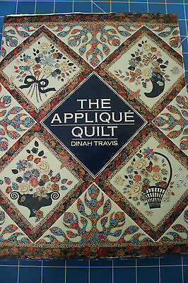 The Applique Quilt by Dinah Travis - B87