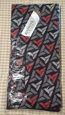 Assassin's Creed Scarf LootCrate DX Exclusive Abstergo Logo NEW
