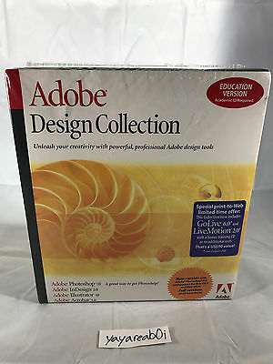 Adobe Design Collection for Mac Education Version (Sealed)