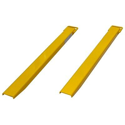 1525mm x 127mm Slip on Fork Extension Tines, Heavy Duty Forklift Slippers