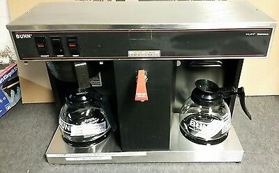 Bunn VLPF Commercial Coffee Maker brewer with 2 New Pots FREE SHIPPING
