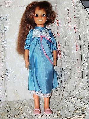 "Beautiful Crissy Doll Hair That Grows Ideal 18"" Original Dress Vintage"