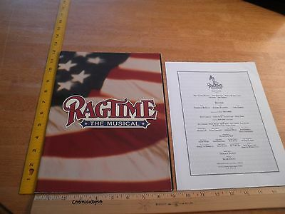 Ragtime the Musical Los Angeles 1996 theater program Susan Wood