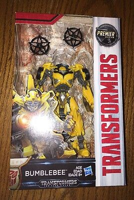 Transformers The Last Knight Premier Edition Autobot Bumblebee Deluxe Class