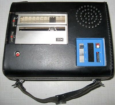 1966 IBM Executary 224 Portable Dictation System, excellent condition, untested.