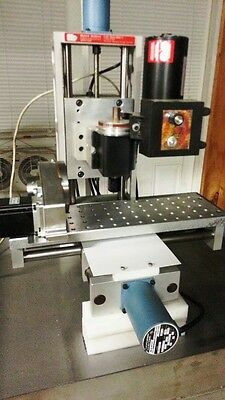Minitech Mini/Mill-2 with 4 axis microstepping (1/16) MACH-3 ready Tabletop