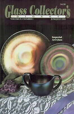 Glass Digest June '95 - Fostoria Jenny Lind, Pearl, Stained Glass Shakers, +