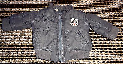 Pumpkin Patch Baby Boys Bomber Style Jacket Sz 0 - 3 Months