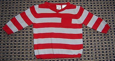 Seed Baby Boys Cotton Jumper  Sz  3 - 6 Months