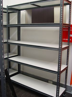 Metal Boltless Powder Coated Shelving for Retail Shops, Garage 1840mmL x 2135mmH