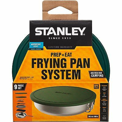 Stanley Adventure Prep And Eat Frying Pan Steel Cookware Set