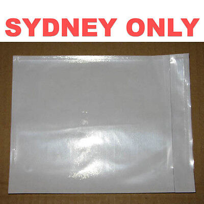 1000 PCS Blank Invoice Envelope Document Enclosed Pouch 115x150mm FREEPOST4SYD!