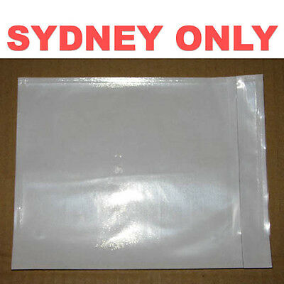 SYDNEY ONLY! 4000 PCS Blank Invoice Envelope Document Enclosed Pouch 115x150mm