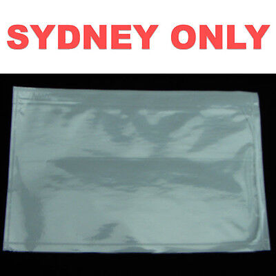 SYDNEY ONLY! 1000 PCS Blank 150x230mm Invoice Envelope Document Enclosed Pouch