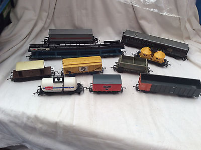00 GAUGE LIMA JOB LOT OF 10x WAGONS FOR SPARES / REPAIRS / PROJECT