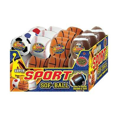 Ja-Ru 999 Soft Sport Balls Assorted Pack of 24