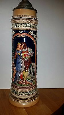 "Vintage GERMAN LARGE 3 LITER SIZE, Lidded, Made In Germany 13.5"" TALL"