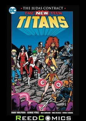 NEW TEEN TITANS THE JUDAS CONTRACT GRAPHIC NOVEL New Paperback