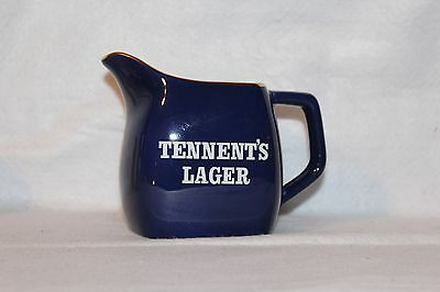 Vintage Tennent's Lager Jug In Royal Blue Made By Wade - Mint Condition!