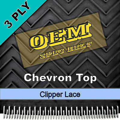 "7"" x 272.5"" 3 Ply Chevron Top 
