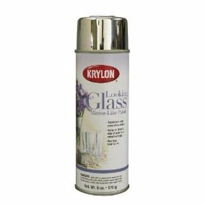 Looking Glass Spray Paint to Achieve Highly Reflective Mirror Like Surface - 6Oz