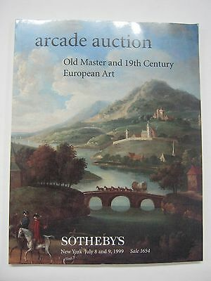 Sotheby's Arcade Old Master and 19th Cent European Art July 1999 New York
