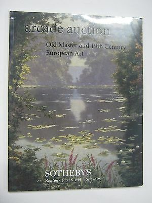 Sotheby's Arcade Old Master and 19th Cent European Art July 1998 New York