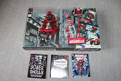 Mattel Monster High SDCC 2013 Wydowna Spider Webarella Doll. New in box.