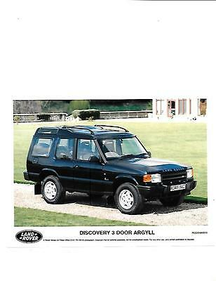 Land Rover Discovery Argyll Ltd Editionoriginal Press Photo 'brochure Connected'