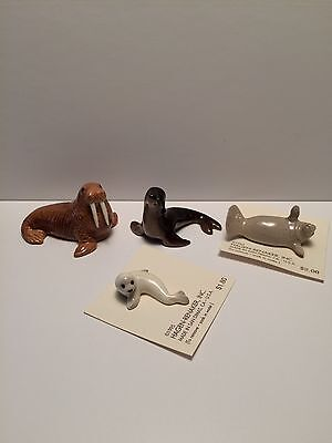 Hagen Renaker Walrus, Seals and Manatee