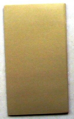 50 SHTS   METALLIC  OLD  GOLD PAPER 120gsm - 235 x 105 approx.