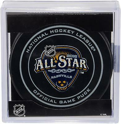 2016 NHL All-Star Game Unsigned Official Game Puck