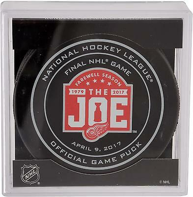 Detroit Red Wings Unsigned April 9, 2017 Final Game At The Joe Item#7056944