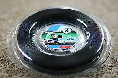 PROKENNEX RACQUETBALL STRING PURE ONE LIQUID 17 BLACK, 1 reel of 200M 660'