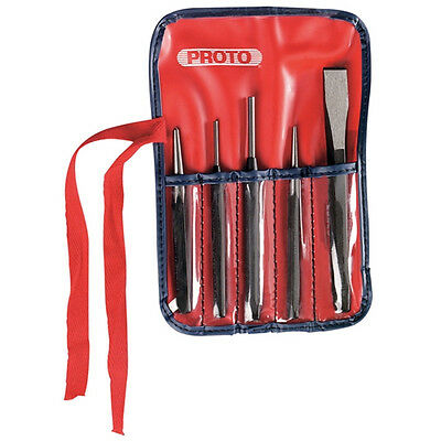 Proto J3 5 Pc. Punch And Chisel Set - 10056276