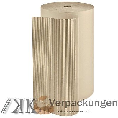 1 Rollenwellpappe 1,0 x 70 m Polstermaterial 70 m² Wellpappe auf Rolle