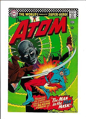 """The Atom #25  [1966 Fn+]  """"the Man In The Ion Mask!"""""""